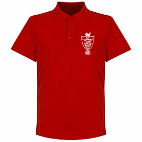 Liverpool 2020 League Champions Trophy Polo Shirt - Red