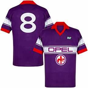 84-85 Fiorentina Ennerre Authentic Remake Shirt - Opel Sponsor