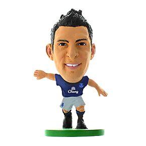Everton Soccerstarz Mirallas 14-15 Home Kit