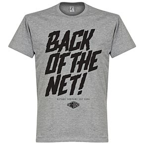 Retake Back of the Net! Tee - Grey