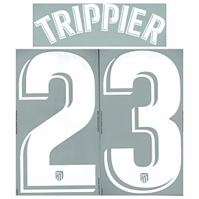 Trippier 23 (Official Printing) - 21-22 Atletico Madrid Home