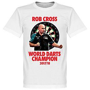 World Darts Champion Tee - White