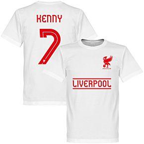 Liverpool Kenny 7 Team Tee - White