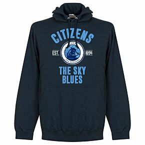 Man City Established Hoodie -Navy