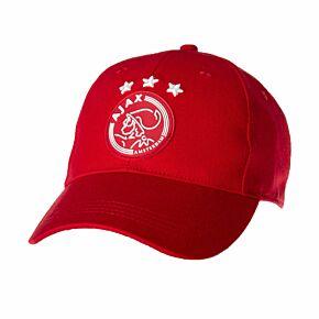 Ajax Team Crest Cap - Red