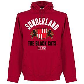 Sunderland Established Hoodie - Red