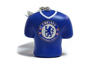 Chelsea Shirt Stress Keyring / Bag Charm