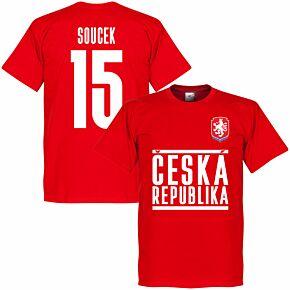 Czech Republic Soucek 15 Team T-shirt - Red