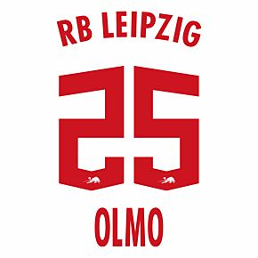 Olmo 25 (Official Printing) - 21-22 RB Leipzig Home