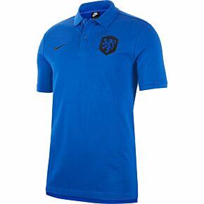 20-21 Holland NSW Pique Polo Shirt - Royal