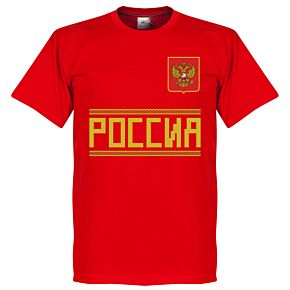 Russia Team Tee - Red