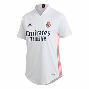 20-21 Real Madrid Womens Home Shirt
