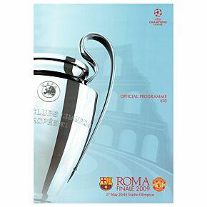 2009 Champions League Final Official Program