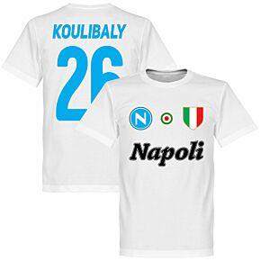 Napoli Koulibaly 26 Team Tee - White