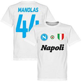 Napoli Zielinski 20 Team Tee - White