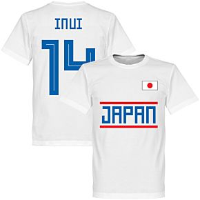 Japan Inui 14 Team Tee - White