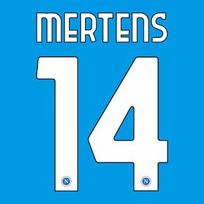 Mertens 14 (Official Printing) - 20-21 Napoli Home