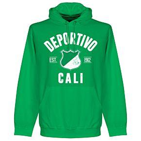 Deportivo Established Hoodie - Green