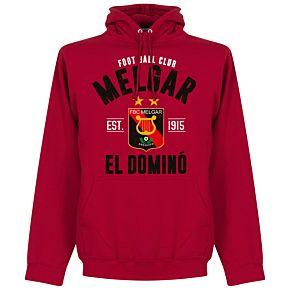 Melgar Established Hoodie - Red