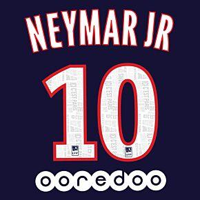 Neymar Jr 10 + Ooredoo Sponsor 19-20 PSG Home