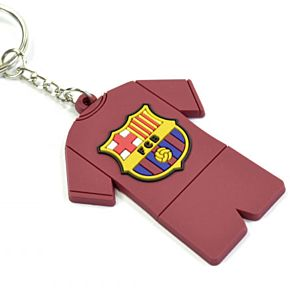 Barcelona Full Kit PVC Keyring
