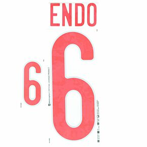 Endo 6 (Official Printing) - 20-21 Japan Home