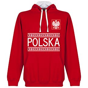 Poland Team Hoodie - Red