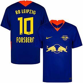 20-21 RB Leipzig Away Shirt + Forsberg 10 (Official Printing)