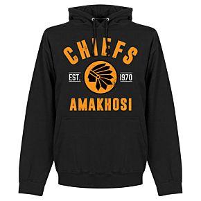 Kaizer Chiefs Established Hoodie - Black