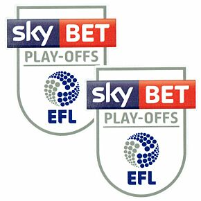 EFL League One Play-Off Patch Pair 2016 / 2017