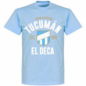 Atletico Tucuman EstablishedT-Shirt - Sky