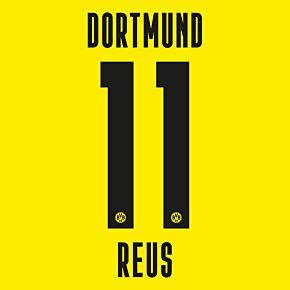 Reus 11 - 20-21 Borussia Dortmund Home (Official Printing)