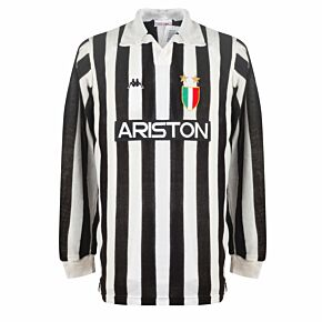 Kappa Juventus 1986-1987 Home Shirt L/S - USED Condition (Great) No.9 - Size L