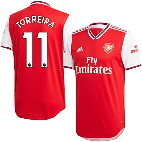 adidas Arsenal Home Authentic Torreira 11 Jersey 2019-2020