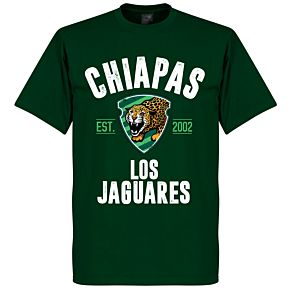 Chiapas Established T-Shirt - Bottle Green