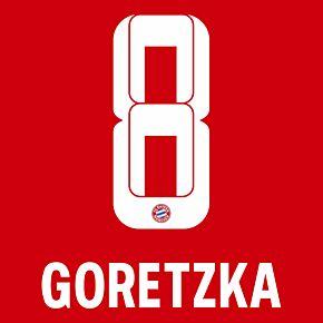 Goretzka 8 (Official Printing) - 21-22 Bayern Munich Home