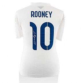 Wayne Rooney Signed England 14-15 Shirt (Back Signed)