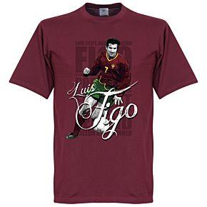 Figo Legend Tee - Dark Red