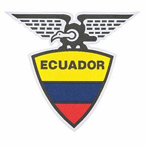 Ecuador Embroidery Patch 9cm x 10cm