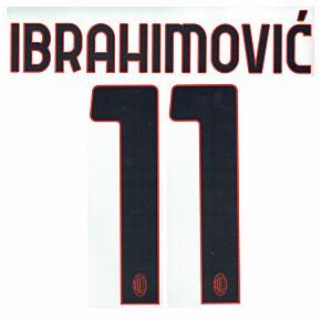 Ibrahimović 11 - 20-21 AC Milan Away