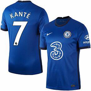 20-21 Chelsea Home Shirt + Kanté 7