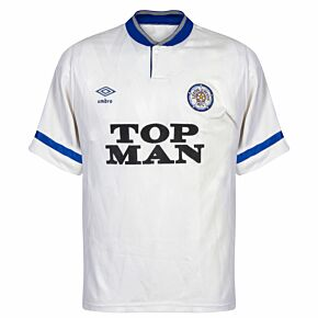 Umbro Leeds United 1990-1991 Home Shirt - USED Condition (Fair) - Size M *READY TO PUBLISH*
