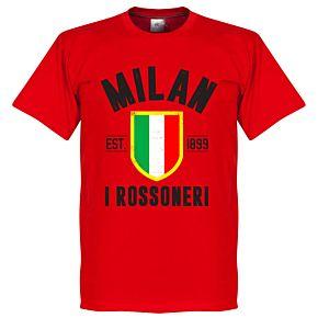 Milan Established Tee - Red