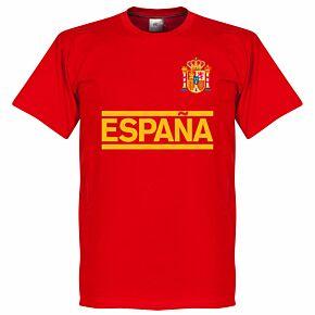 Spain Team Tee - Red