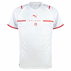 21-22 Switzerland Away Shirt