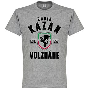 Rubin Kazan Established Tee - Grey