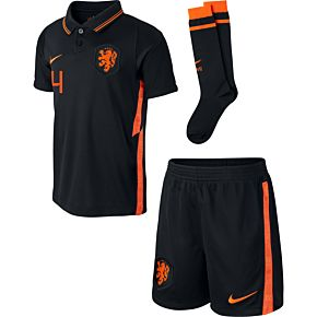 20-21 Holland Away Little Boys Kit + Virgil 4 (Fan Style Printing)