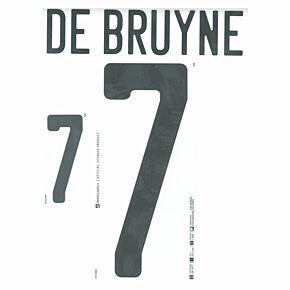 De Bruyne 7 (Official Printing) - 21-22 Belgium Away