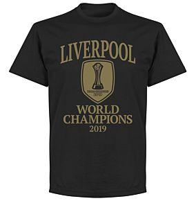 Liverpool World Club Champions 2019 T-shirt - Black