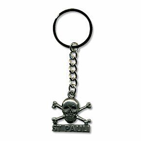St Pauli Skull Keyring